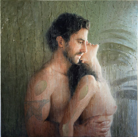 Thank You | 30x30 | oil on linen | 2013 | Alyssa Monks