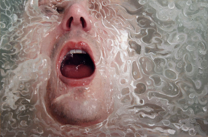 "Risk | oil on panel | 11"" x 16"" 