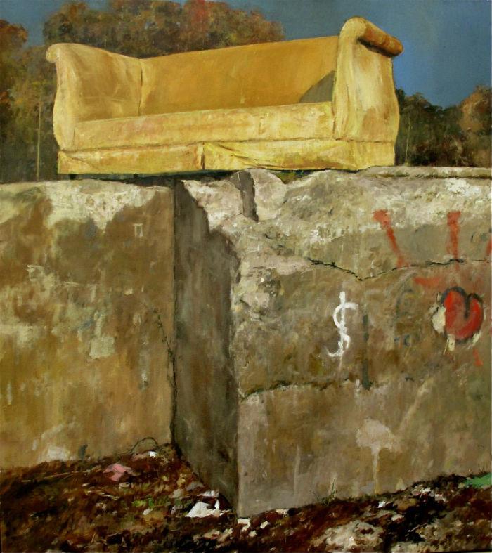 Gold Sofa Julyan 700