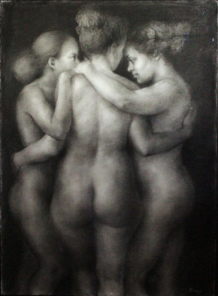 The Three Graces Helene Knoop 700