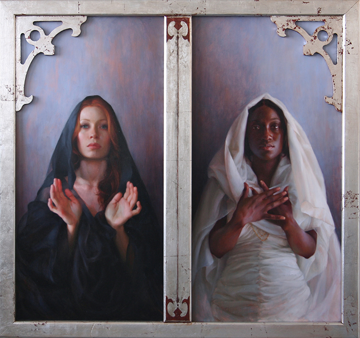 Universal Mother of Compassion_48-x48-_oil on panel_2009_Private Collection