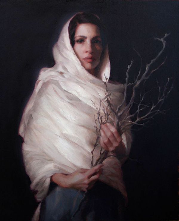 Winter | oil on canvas | 24 x 20 | Adrienne Stein | Private Collection