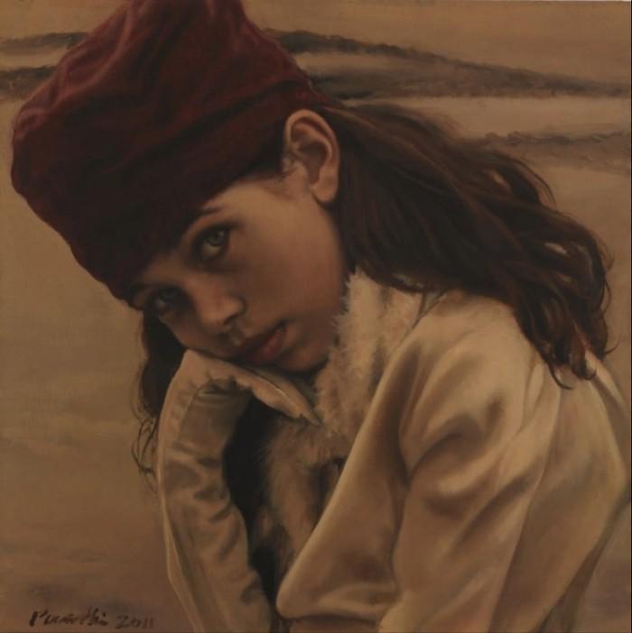 "Mud | 12"" x 12"" | Pamela Wilson"