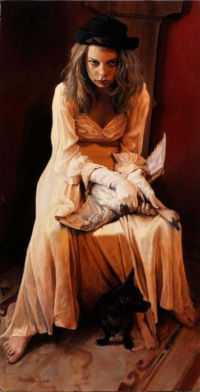 "<em>Of Small Humiliations (54x48"")</em> | 54"" x 48"" | Pamela Wilson"