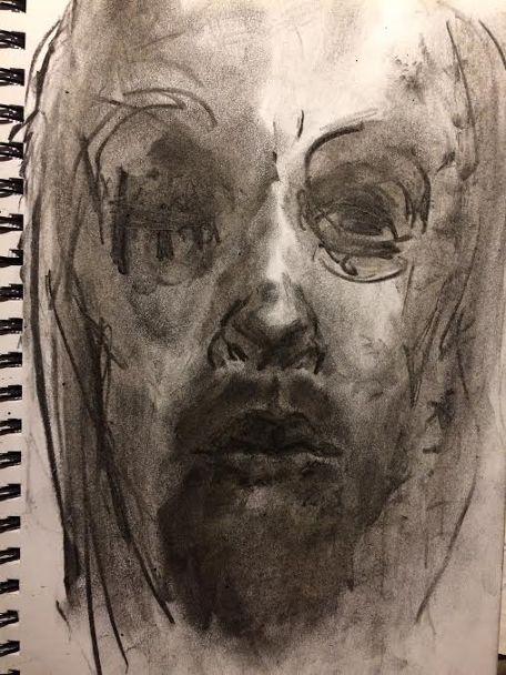 Self-portrait | Jaakko Savolaeinen