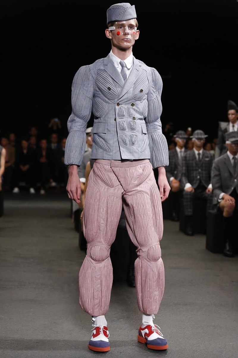 Thom Browne, Menswear, Spring Summer 2015 Fashion Show in Paris