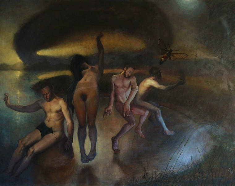 Hermetica | Hermetica (SOLD) | Oil Painting | 46 H x 59.8 W x 2 in | Richard T. Scott