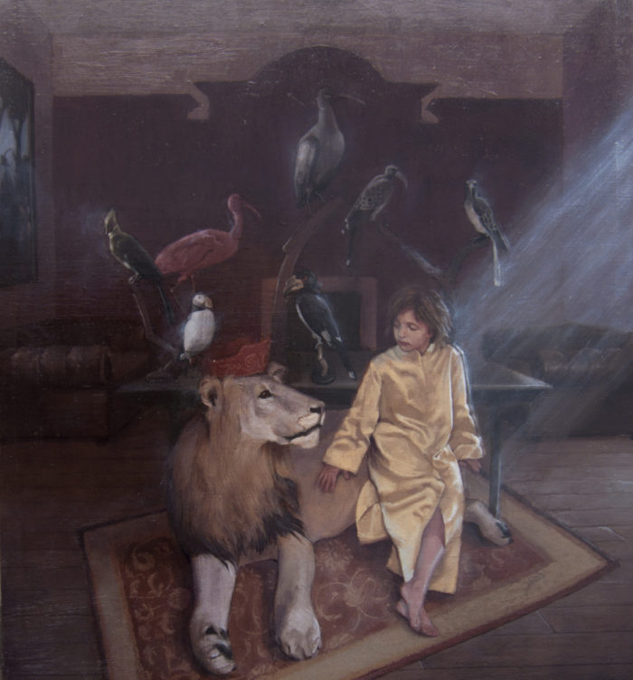 The Menagerie | oil on linen | 22 x 28"