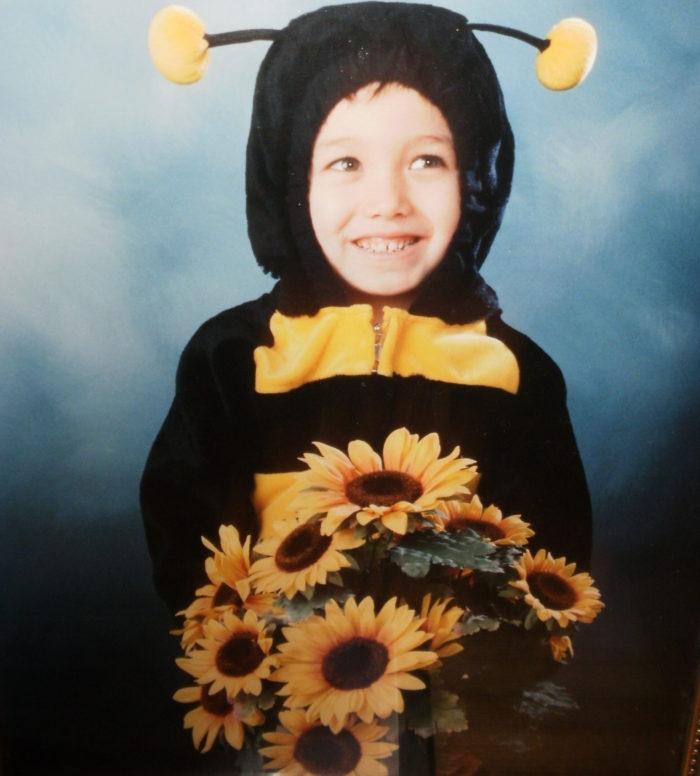 Cole, age 5, Halloween