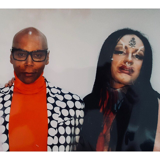 RuPaul with Deff Starr