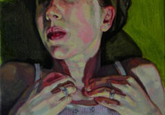 Christina-Sealey-Self-portrait-outside-12-x-10-Oil-on-linen_850-e1499188895458